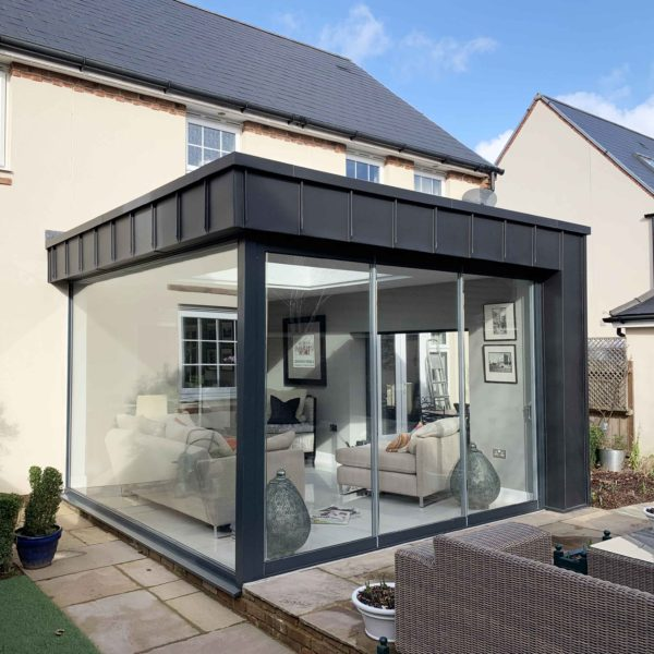 Sunroom extension in Abergavenny